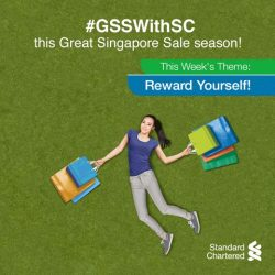 [Standard Chartered Bank] Surround yourself with rewards when you shop during the Great Singapore Sale!