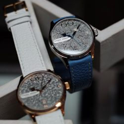 [Krasnaya - The Watch Art Gallery by Red Army Watches] Would you pick a warmer or cooler shade of Winter for Mom?