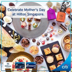 [Citibank ATM] This weekend, surprise your Mum and take her out to high tea or brunch with the family.