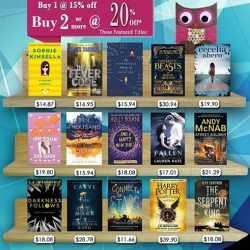 [MPH] MPH Children Bestsellers PromotionBuy 1 at 20% off 2 or more at 25% off Promotion valid from 1 - 31