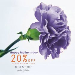 [Rad Russel] Celebrate Mother's day weekend with 20% off all regular ladies shoes!