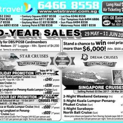 [WTS TRAVEL] It's never too early to book your year end holiday package now!