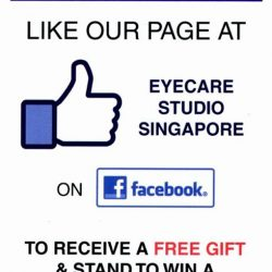 [Eyecare Studio Optometrist] Thank you all participants who liked and share our page.