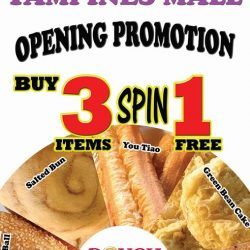 [Dough Culture] NOW @ TAMPINES MALL # B1-K16 OPENING PROMO BUY 3 SPIN 1 FREE!