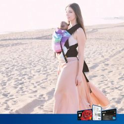 [UOB ATM] Keep your baby close and comfortable with Fluff Mail's ergonomic baby carriers!