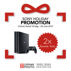 [Cathay Photo] Did you know that Sony Singapore's Mid-Year Promotion has started today?
