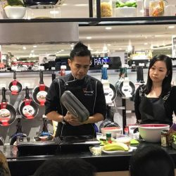 [La Gourmet] Successful cooking event in AEON Mid Valley Megamall, Kuala Lumpur Malaysia.