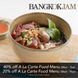 [Bangkok Jam] Don't miss out on our awesome deal, specially for all OCBC Credit and Debit Card holders!