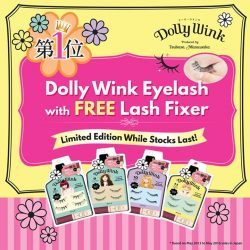 [Sasa Singapore] Get alluring eyes and look your best with Dolly Wink.