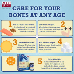 [Eu Yan Sang] The skeletal system has one of the most important functions in the human body, so here are five ways you