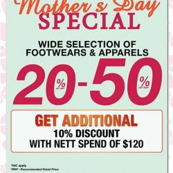 [Sportslink] Good Day People~Mother's Day is around the corner, great deals awaiting you.