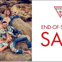 [GUESS Singapore] End-of-Season SALE up to 50% OFF is now on at all GUESS Singapore boutiques!