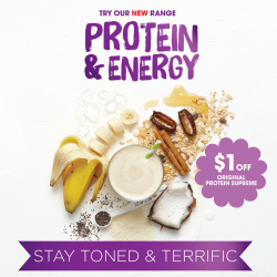 [Boost Juice Bars Singapore] Want to stay toned and terrific?