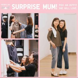 [Uniqlo Singapore] As Mother's Day draws close, we got some of our staff to pick outfits for the superwoman in their