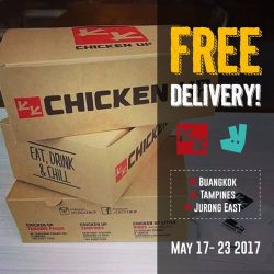 [CHICKEN UP] FREE DELIVERY!