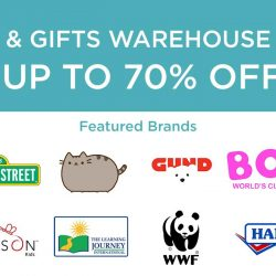 [Natures Collection] Toys & Gifts Warehouse Sale from 19th - 21st May.