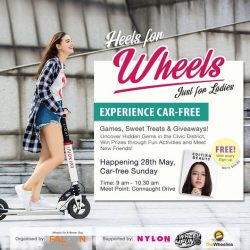 "[INLINEX] Calling out to all ladies only, Falcon PEV is hosting a ""Heels for Wheels"" event this sunday, 28 May."