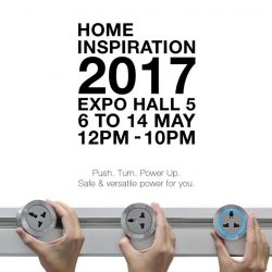 [Eubiq] Stand a chance to win $11,888 cash at Home Inspiration 2017 event.