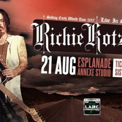 [SISTIC Singapore] Tickets for RICHIE KOTZEN Live in Singapore goes on sale on 18 May 2017.