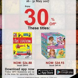 [MPH] Exclusive MPH Offer On Parkway Parade App30% off featured titlesPromotion period 16 -31 May 2017
