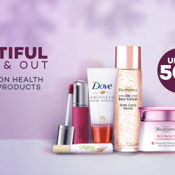 [Lazada Singapore] Hot deals on health & beauty products with up to 50% off!