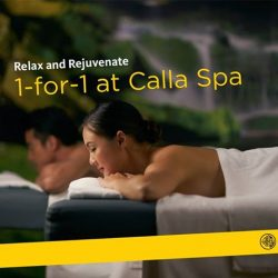 [Maybank ATM] Calla Spa is here to offer luxurious treatments and gourmet food for a much needed sanctuary.