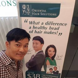 [Oriental Hair Solution] Our ambassador, Thomas Ong, have made his appointment!
