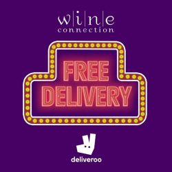 [Wine Connection] Enjoy FREE DELIVERY now when you Deliveroo us from Wine Connection Bistro HillV2 http://bit.