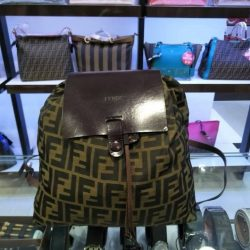 [Luxury City] Preloved Fendi BackPack☎️ :+6567020082 WhatsApp :+6581814221 Follow us on FB:www.