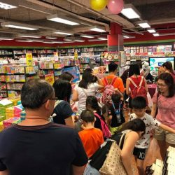 [POPULAR Bookstore] It sure was a busy Saturday at the  Members Closed-Door Sale @ POPULAR Bras Basah!