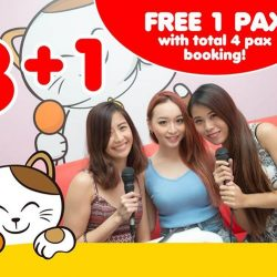 [Manekineko Karaoke Singapore] Sign up with JPASSPORT now and get exciting deals from us!