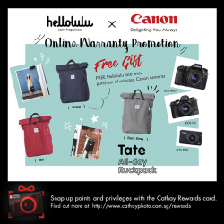 [Cathay Photo] Getting a new camera for the upcoming holidays?
