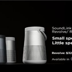 [EpiCentre Singapore] Introducing the all new Soundlink Revolve Speakers!