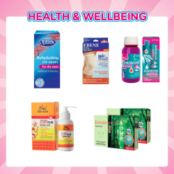 [Watsons Singapore] Let us take care of your health with these exciting deals!