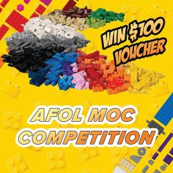 [Bricks World (LEGO Exclusive)] REPOST: Bricks World Members AFOL MOC CompetitionA reminder to all to submit your MOC entries by 2nd June!