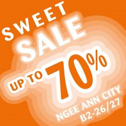 [Candylicious] Last call for our Sweetest Sale at Candylicious Ngee Ann City this weekend!