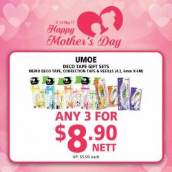[POPULAR Bookstore] Mother's Day is coming and for those who are still clueless about what to get for Mummy dearest, we