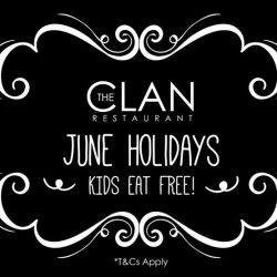 [The Clan Restaurant] The June Holidays are almost here, and we've got fantastic news!