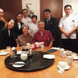 [Din Tai Fung] Delighted to have the privilege of serving PM Lee Hsien Loong, his wife, Ms Ho, and their guests on this