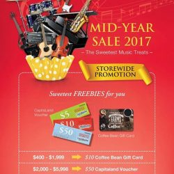 [YAMAHA MUSIC SQUARE] Enjoy great discounts + receive these freebies when you shop with us today!