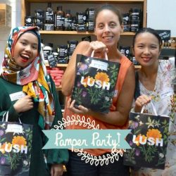 [Lush Singapore] Would you like to party with us?