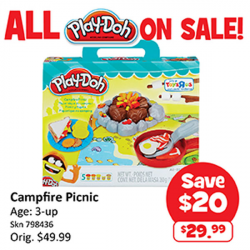[Babies'R'Us] 3 days specials with offers on the widest range of MY LITTLE PONY, NERF, THOMAS & FRIENDS, and PLAY - DOH!