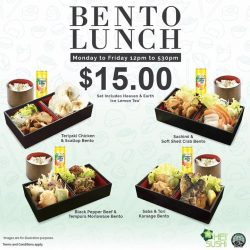 [Hei Sushi] HeiBentoLunch Get your lunch buddy ready!