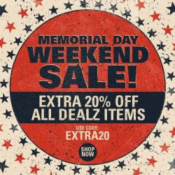 [Iron Fist Clothing] Memorial Day Weekend Sale starts now!
