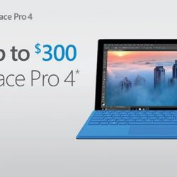 [Harvey Norman] Now till 21 May 2017, save up to $300 when you purchase the Surface Pro 4 at HarveyNormanSG.