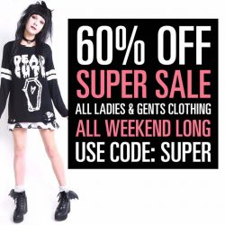 [Iron Fist Clothing] 60% OFF SUPER SALE!