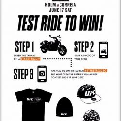 [Harley-Davidson] If you like Harleys, follows UFC closely, and love freebies.