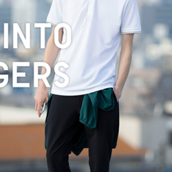 [Uniqlo Singapore] Jogger Pants are trendy, sporty and can be easily dressed up and down.