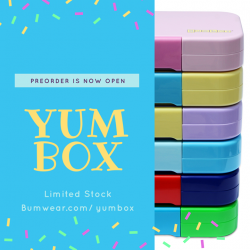[Bumwear] The Yumbox Preorder is now OPEN :-) Stock is expected by mid-JuneGrab yours now at http://Bumwear.