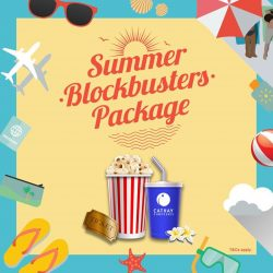 [Cathay Cineplexes] Say hello to the Summer Blockbusters Season!